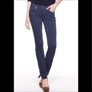 Tory Burch super skinny Jean in washed blue 26